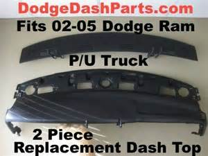 2003 Dodge Ram 1500 Dashboard Replacement Dodge Ram 2p Replacement Dash Top Fits 2002 1500 03 05