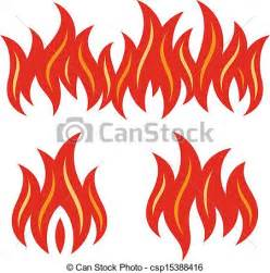 Garage Design Plans vector clip art of fire flames vector illustration