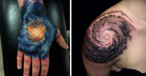 cosmic tattoos 15 cosmic ideas for astronomy bored panda