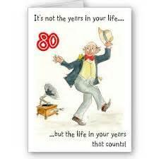 80th birthday quotes quotesgram