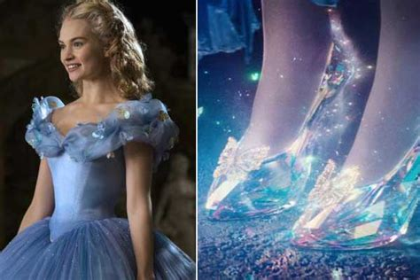 cinderella film hotel behind the making of cinderella s glass slipper shoe