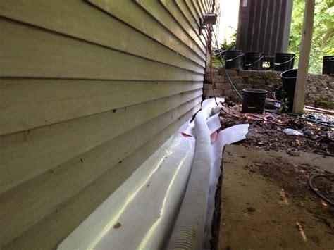 basement sill plate sill plate drainage