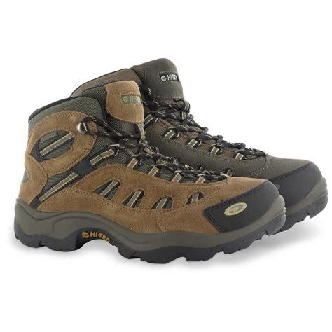 mens waterproof hiking boot hi tec bandera s mid hiking boots waterproof 665196
