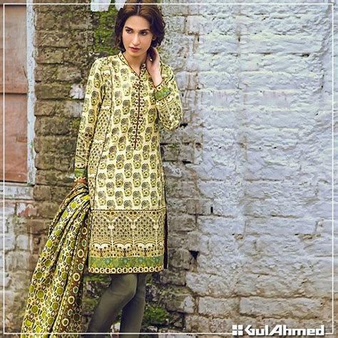 dress design gul ahmed gul ahmed latest collection 2017 of winter dresses