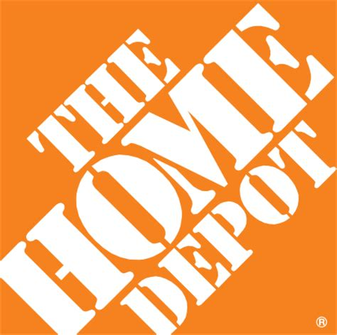 home depot logo vector in eps vector format