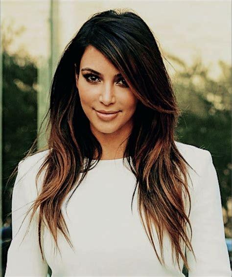 kim kardashian hair color highlights kim kardashian ombre hair color kim kardashian and her