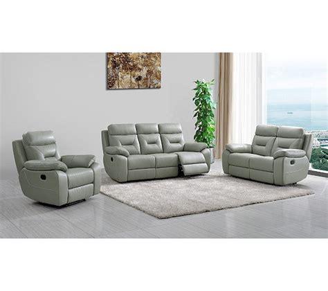 canapé deux places relax canap 233 relax deux places edgar cuir gris canap 233 s but