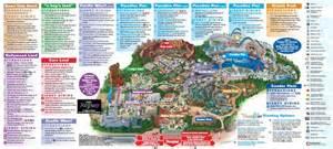Disneyland Orlando Map by Maps Of California Adventure Map 2013 Pdf