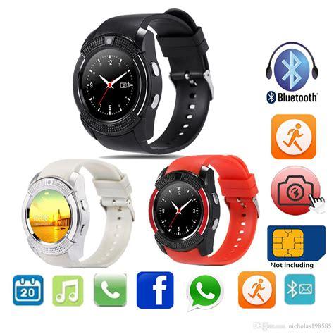 Jual Smartwatch V8 Smart V8 Bluetooth Sim Card Memory Whatsapp v8 a1 dz09 smart bluetooth android calgary bazar