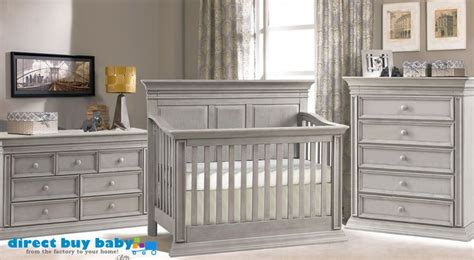 Distressed Grey Crib Distressed Grey Rustic Nursery Set I Direct Buy