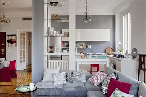cucine e soggiorno open space come dividere cucina e soggiorno casafacile