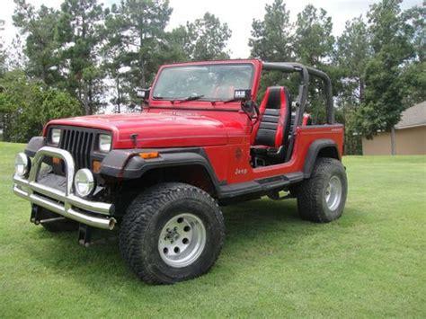 1992 Jeep Wrangler Gas Mileage Buy Used 1992 Jeep Wrangler Base Sport Utility 2 Door 4 0l