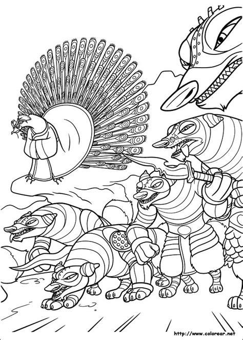 kung fu panda shen coloring pages coloring pages dibujos para colorear de kung fu panda 2