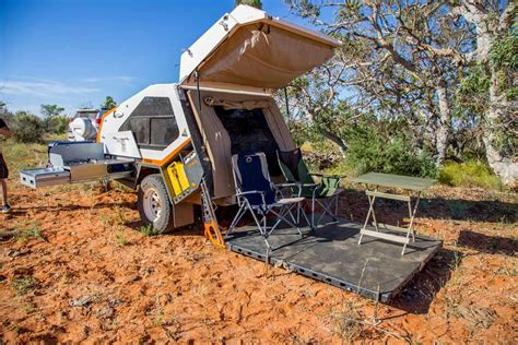 Camper Trailer Of The Year   Special Edition Tvan   Track