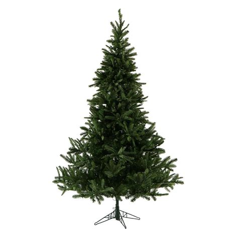 7 8 ft fresh nobel fir fraser hill farm 7 5 ft unlit noble fir artificial tree ffnf075 0gr the home depot