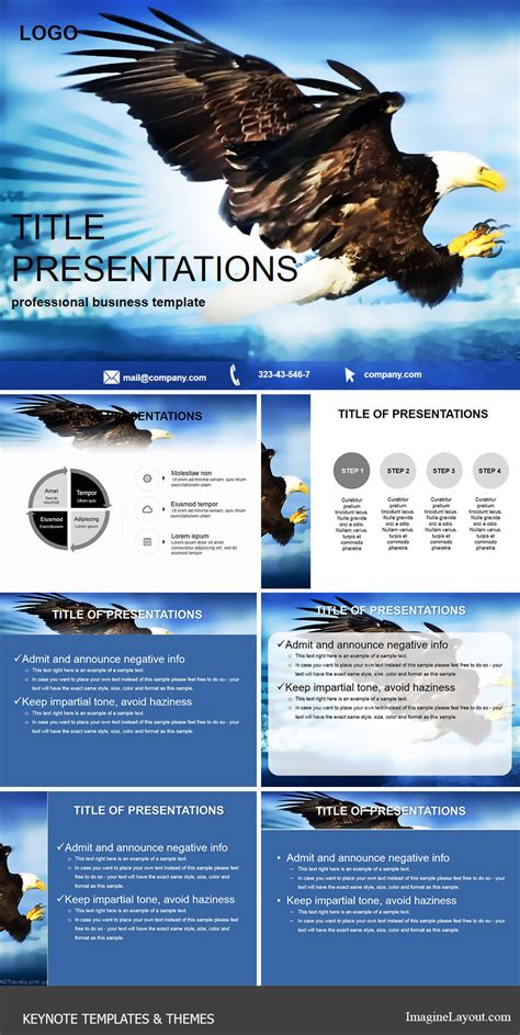 keyhole nature brochure template design id 0000008048 hunting with eagle keynote templates imaginelayout com