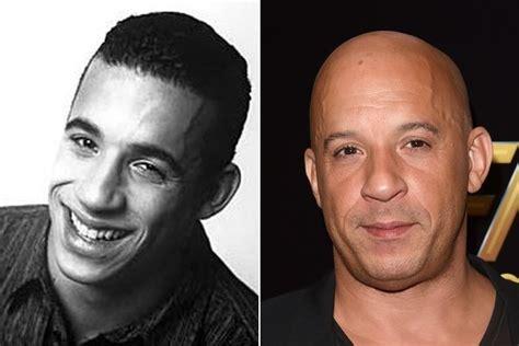 bald or balding celebrities vin diesel famous bald celebrities when they had hair