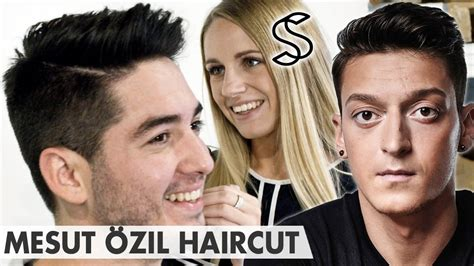 Mesut Ozil Hairstyle by Ozil Hairstyle Www Pixshark Images Galleries With