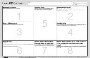 Lean Canvas Template Pdf by The Lean Ux Canvas Jeff Gothelf Medium