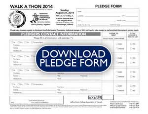 Walkathon Registration Form Template by Doc 627872 Pledge Form Everydayhero 72 Related Docs