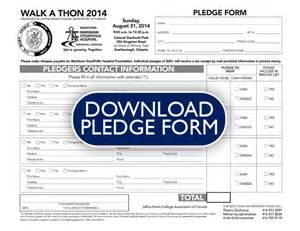 a thon pledge form template doc 627872 pledge form everydayhero 72 related docs