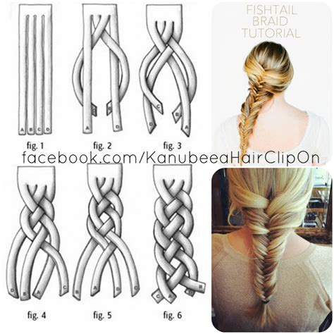 tutorial membuat gelang fishtail kanubeea hair clip march 2012