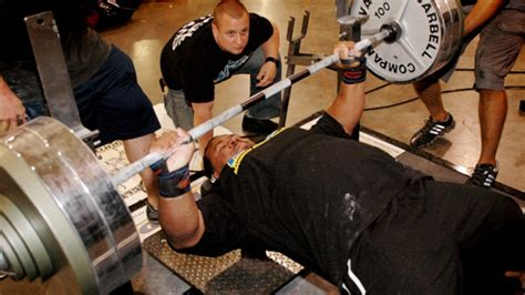 the rock bench press max the best damn bench press article period t nation