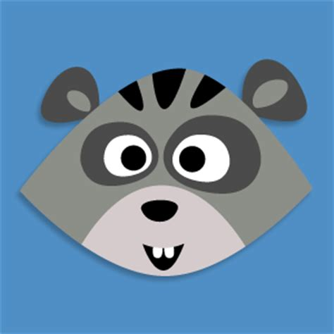 Printable Raccoon Mask | masketeers printable masks new masks coming up