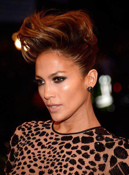 jlo hairstyles 2013 jennifer lopez mohawk updo
