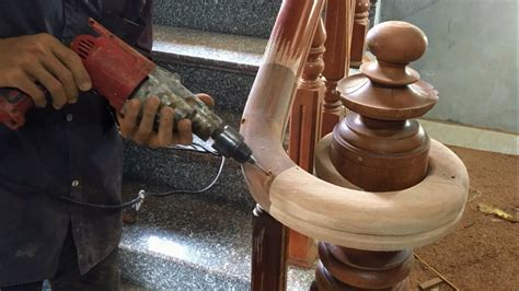 amazing curved woodworking project     curved