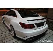 E Class Coupe Wide Bodykit By MAE Is As Clean A Whistle