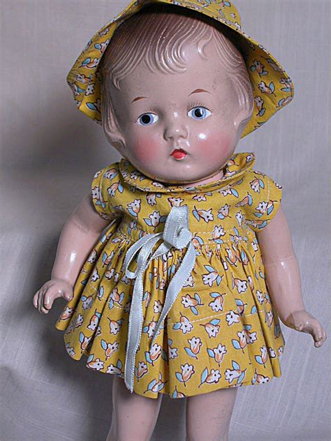jointed doll look vintage patsy doll look a like composition jointed doll