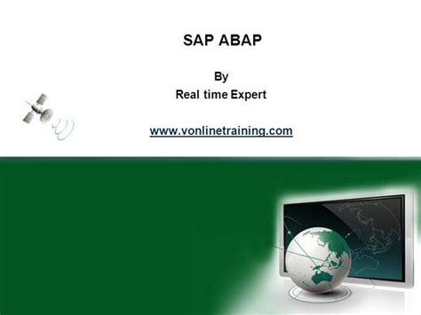 Sap Abap Ppt Authorstream Sap Powerpoint Template