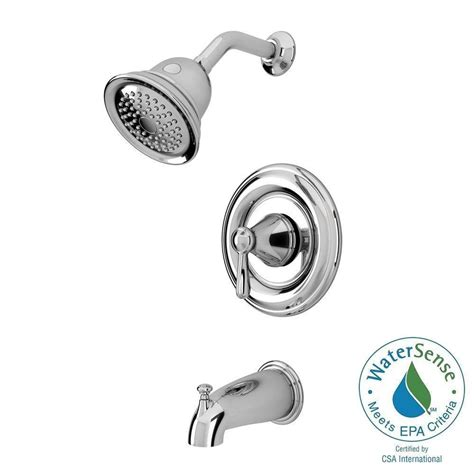 American Standard Marquette Bath Faucet by American Standard Marquette 1 Handle 1 Spray Tub And