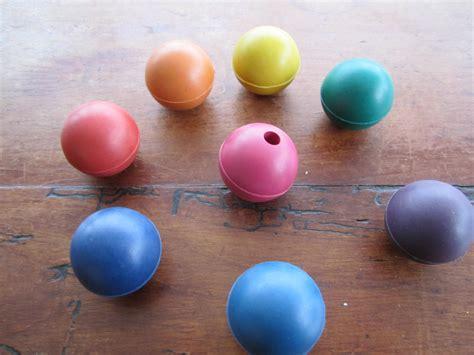 rubber balls activators for tuning forks