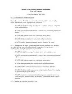 english language arts worksheets 7th grade english