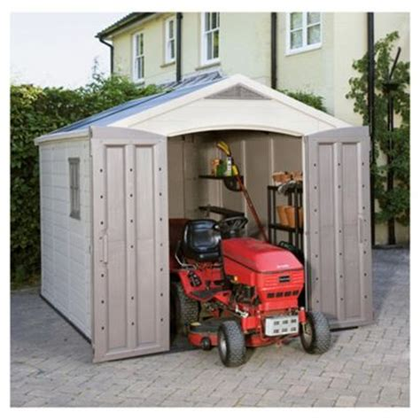 Keter Plastic Shed 8x8 by Outdoor Narrow Shed Equipment Storage Shed Plans Keter