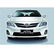 2011 Toyota Corolla Face Lift Spied  PakWheels Blog