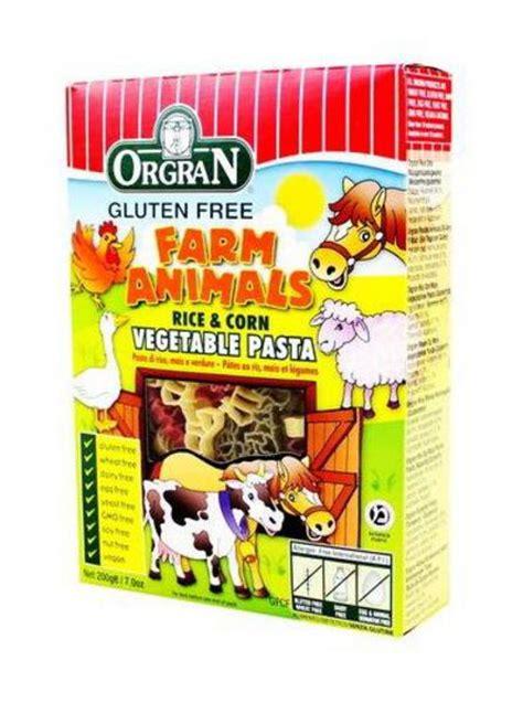 Orgran Vegetable Animal Pasta Vegetable Rice And Corn Animal Shape Pasta In 200g From Orgran