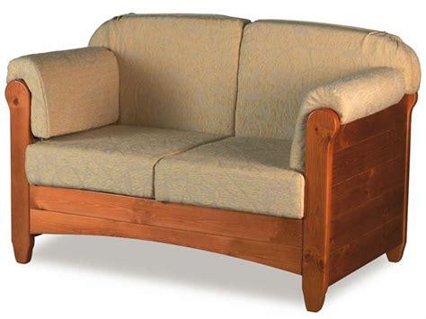 divani in legno rustici lar8 divano divano rustico in legno con cuscini in
