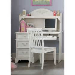 Liberty arielle antique white student desk hutch and chair set