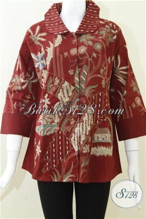 Eyeshadow Untuk Baju Merah baju batik tulis kontemporer untuk wanita blus batik warna