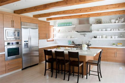 kitchens with open shelving 27 kitchens with open shelving
