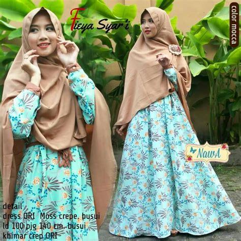 Isyana Dress Syari By Nawa fieya syari by nawa pusat grosir jilbab modern
