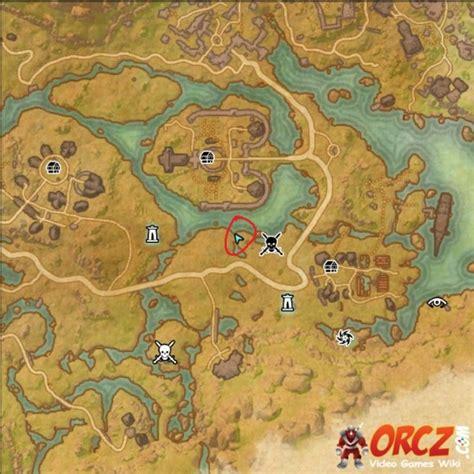 map vi eso deshaan treasure map vi orcz the wiki