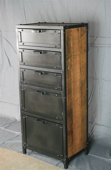 Industrial Dresser Furniture by Modern Industrial Chest Combine 9 Industrial