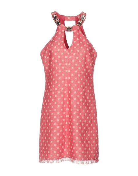 Dress Golocase lyst boutique moschino dress in pink