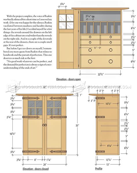wall tool cabinet plans woodarchivist