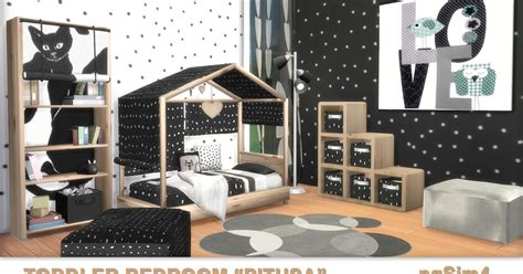 sims 4 schlafzimmer toddler bedroom quot pitusa quot sims 4 custom content
