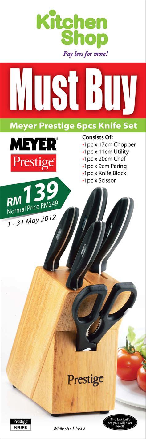 Sale Pisau Set Kitchen King 6pcs meyer prestige 6pcs knife set promotion at kitchen shop